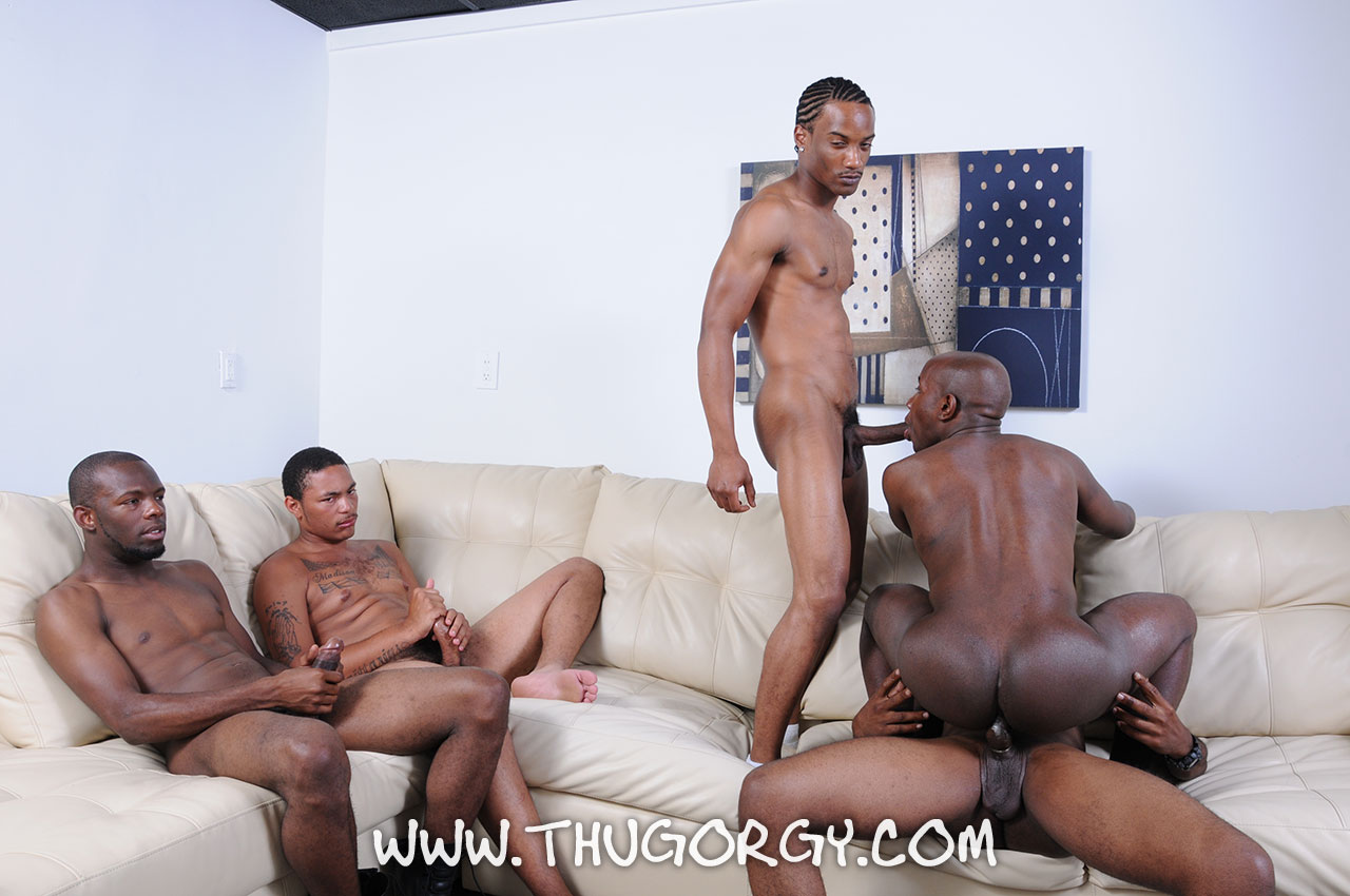 Thug-Orgy-Kash-Angel-Mr-Magic-Intrigue-Ramon-Steel-Gay-Black-Guys-Fucking-Amateur-Gay-Porn-14 Amateur Big Black Cock Orgy Ends With A Cum Facial