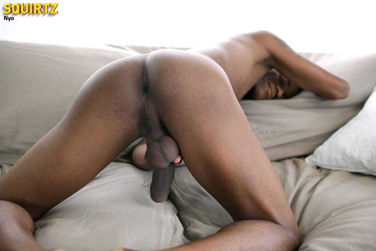 Black Amateur Cock Jerking
