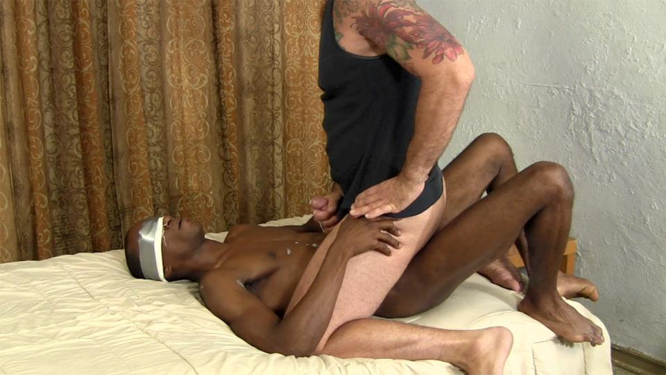 White Guy Rides An Amateur Straight Guys Big Black Cock ...