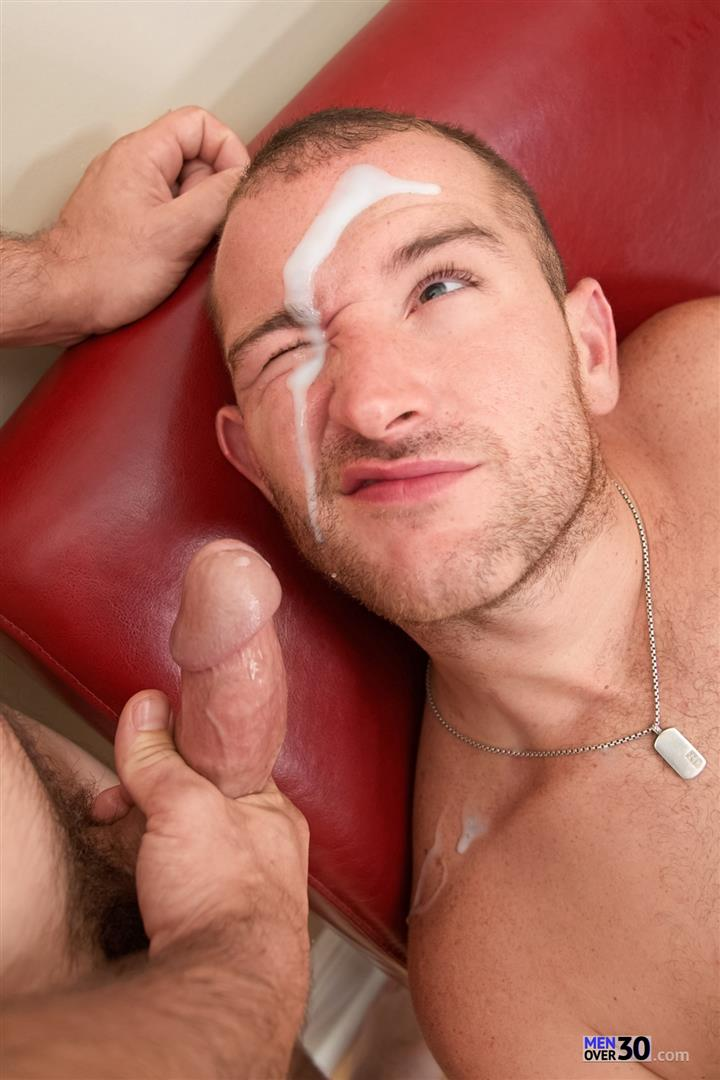 Gay big dick facial
