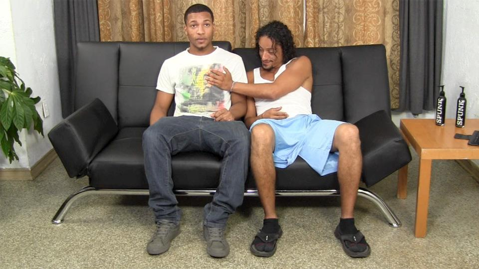 straight black guys gay porn Oct 2016  Watch as these two hot black guys go at it.