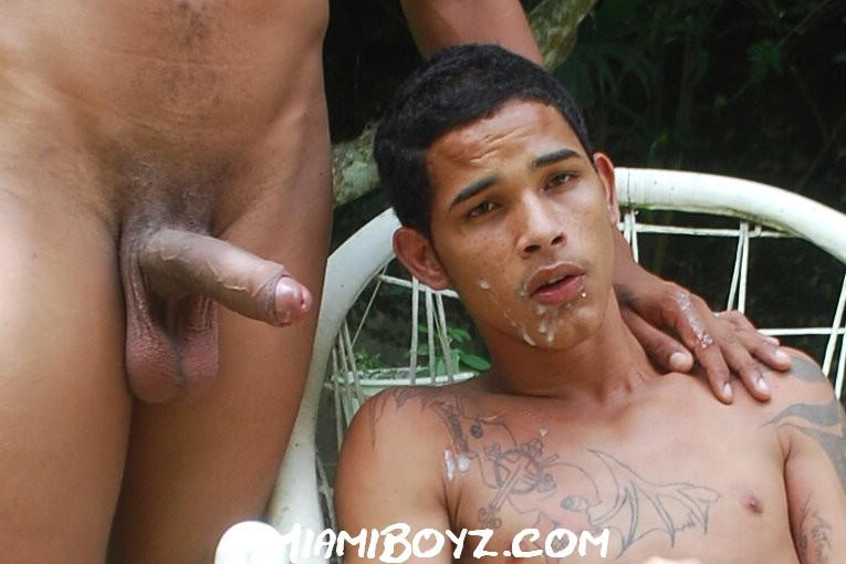 Miamiboyz-Edgar-and-Chico-Latino-Twinks-With-Huge-Cocks-Big-Cum-Shot-Amateur-Gay-Porn-48 Amateur Bi Latino Twink Sucks His Straight Latin Buddies Huge Uncut Cock