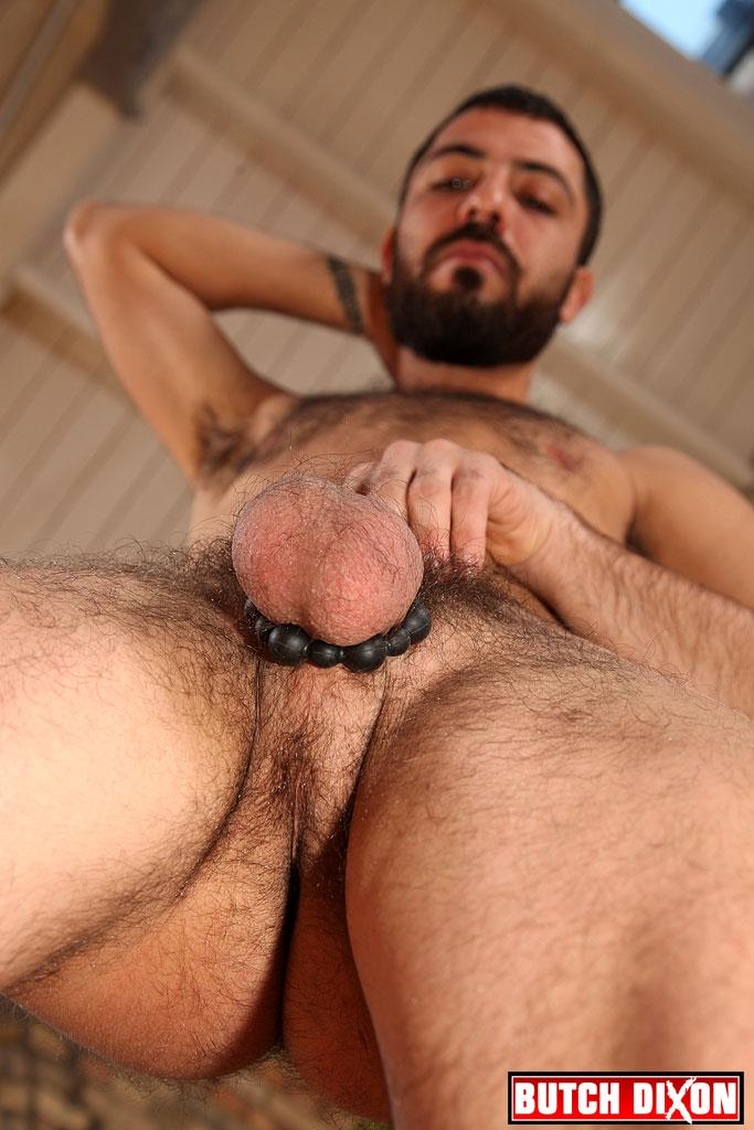 Butch Dion Diego Duro Hairy Turkish Guy Jerking Off And Ass Play