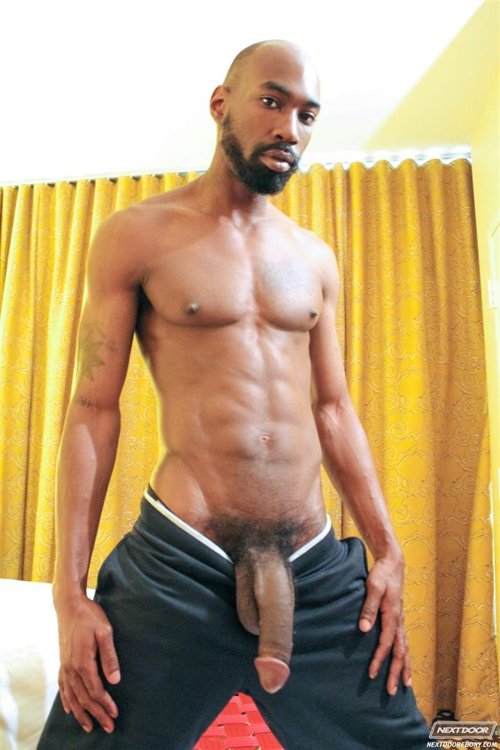 Next-Door-Ebony-Astengo-and-PD-Fox-Big-Black-Cocks-Fucking-Amateur-Gay-Porn-02 Two Hung Black Guys Having Anonymous Gay Sex In A Hotel Room