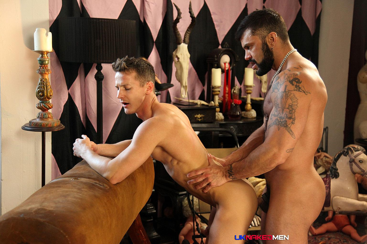 UK Naked Men Rogan Richards Darius Ferdynand Huge Uncut Cocks Fucking Amateur Gay Porn 22 Hairy Muscle Arab Stud With A Big Uncut Cock Fucks A Slim Muscle Ass