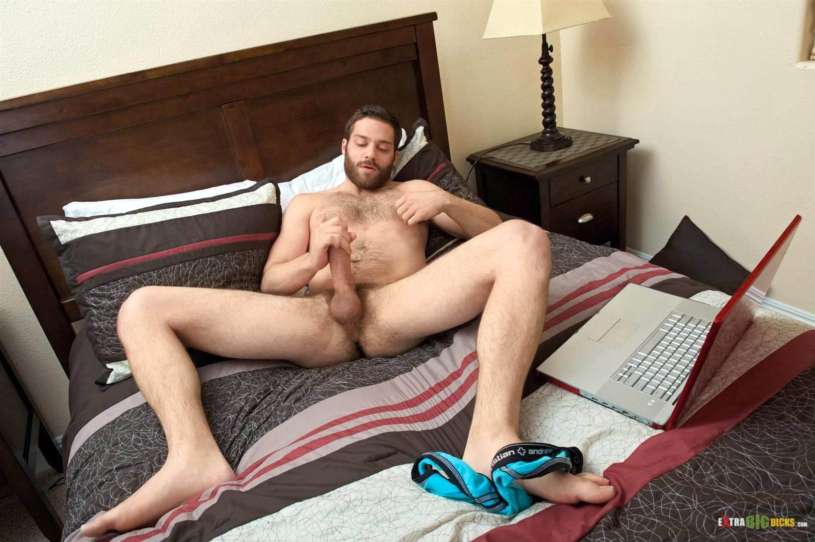Extra Big Dicks Tommy Defendi Hairy Muscle Guy Jerking Off Amateur Gay Porn 07 Hairy Muscle Stud Tommy Defendi Jerking Off His Big Thick Cock