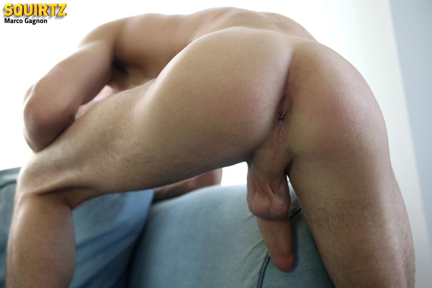 Squirtz Marco Gagnon Twink With A Massive Uncut Cock Jerk Off Amateur Gay Porn 22 Young and Hung Marco Gagnon Stokes His Massive Uncut Cock
