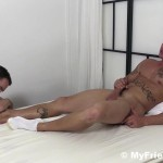 My Friends Feet Sebastian Young and Cameron Kincade Male Feet Worship Fetish Amateur Gay Porn 12 150x150 Sebastian Young Gets His Feet Worshipped While He Jerks Off