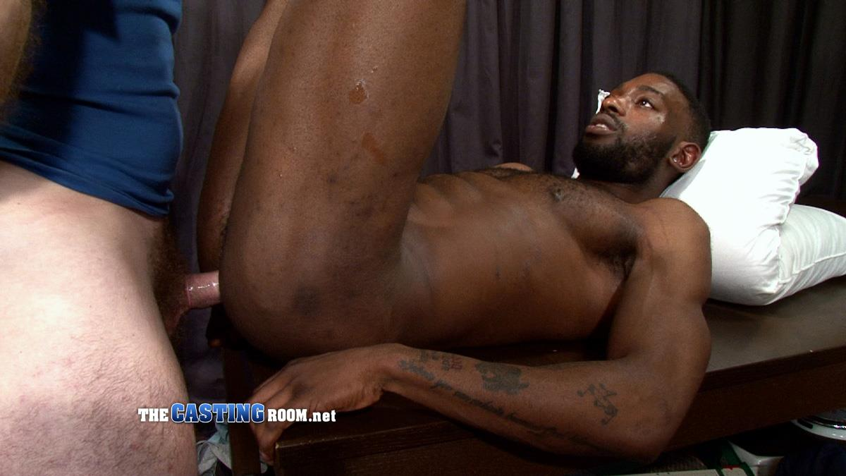 The-Casting-Room-Jospeh-Big-Black-Cock-Interracial-Fucking-White-Guy-Amateur-Gay-Porn-24 Black Guy Auditioning For Gay Porn Flip Flop Fucking With Big Uncut Cocks