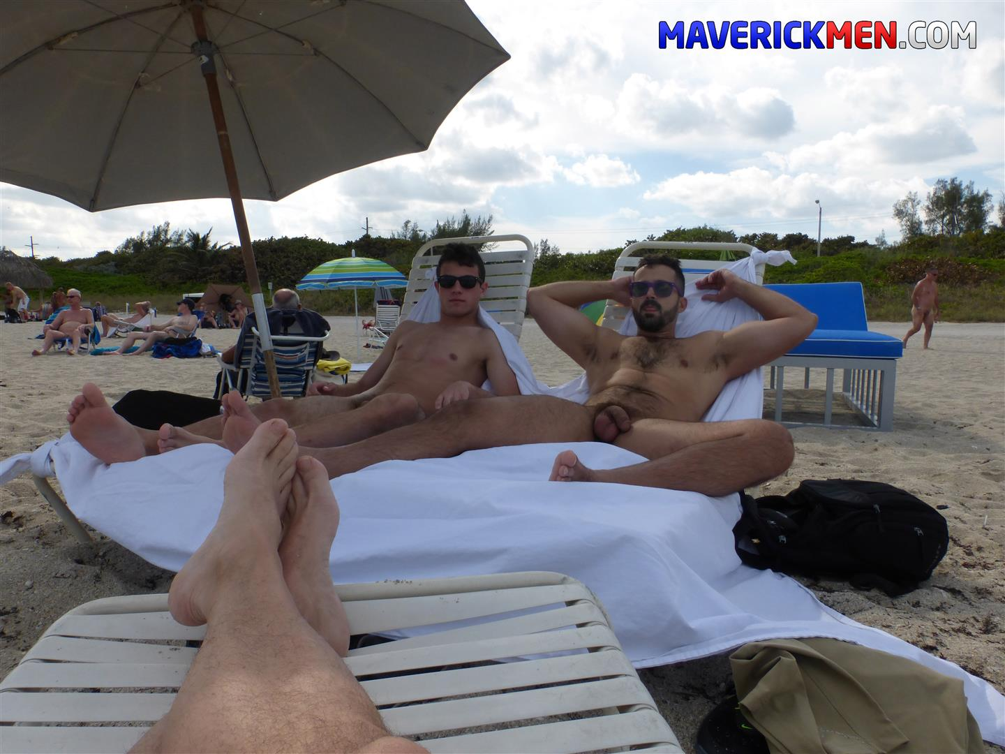 Maverick-Men-Vic-Hunter-Cole-Naked-Men-At-Haulover-Beach-Bareback-Amateur-Gay-Porn-11 The Maverick Men Bareback Fucking A Hairy Young Ass In Florida