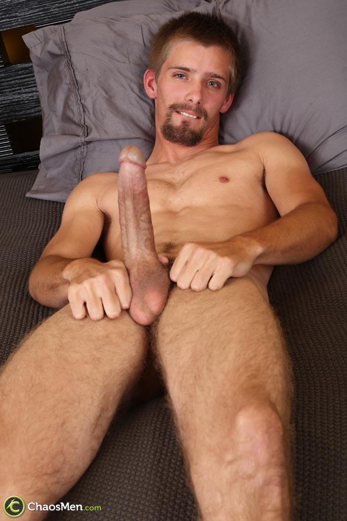 """Chaosmen Augustine Straight Guy With A Big Horse Cock Amateur Gay Porn 23 Skinny Redneck With A Hairy Ass Stroking His 10"""" Cock"""