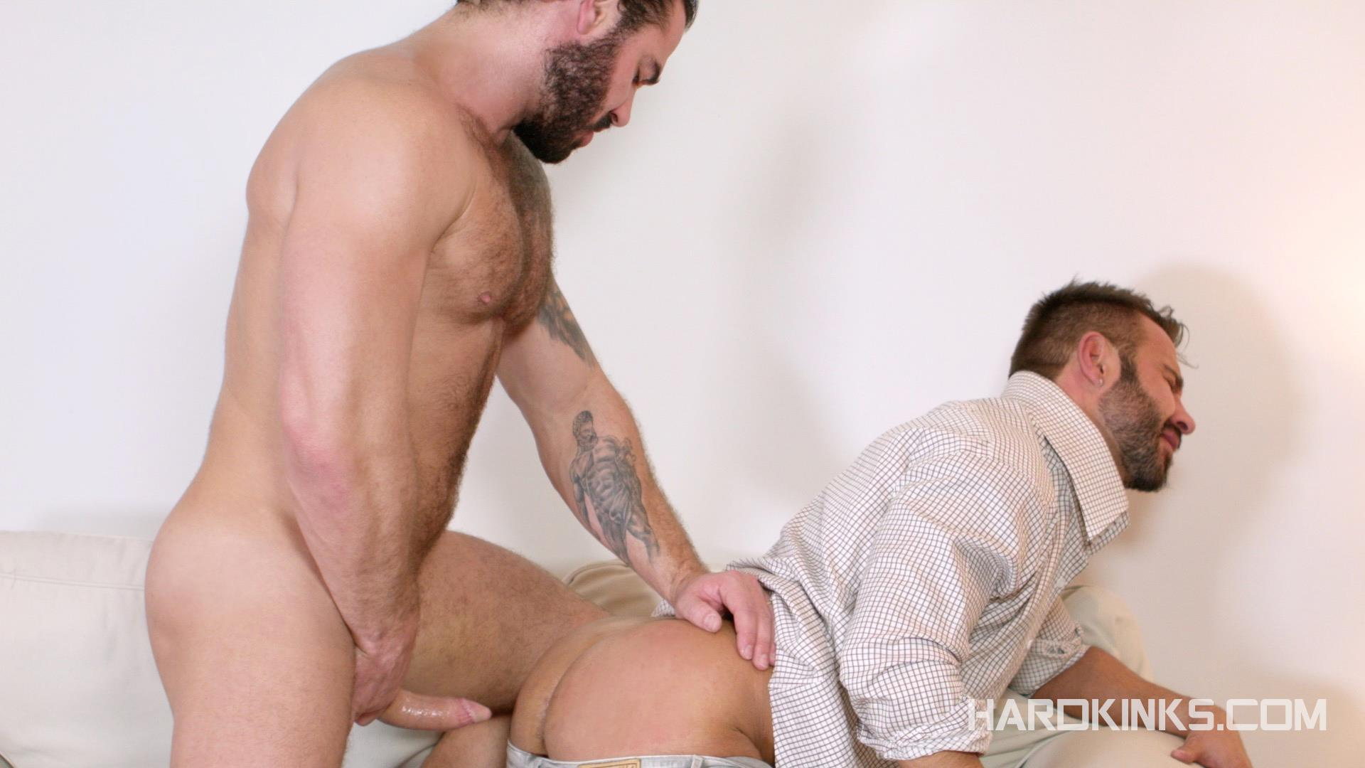 Hardkinks Jessy Ares and Martin Mazza Hairy Alpha Male Amateur Gay Porn 11 Hairy Muscle Alpha Male Dominates His Coworker