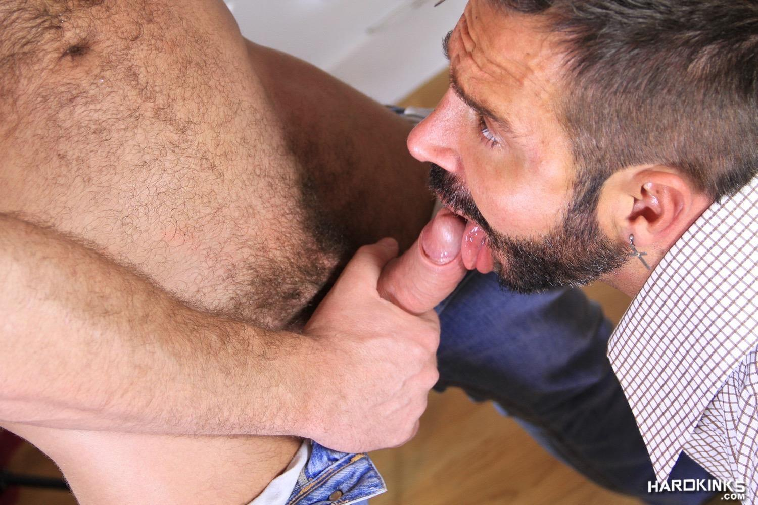 Hardkinks Jessy Ares and Martin Mazza Hairy Alpha Male Amateur Gay Porn 26 Hairy Muscle Alpha Male Dominates His Coworker