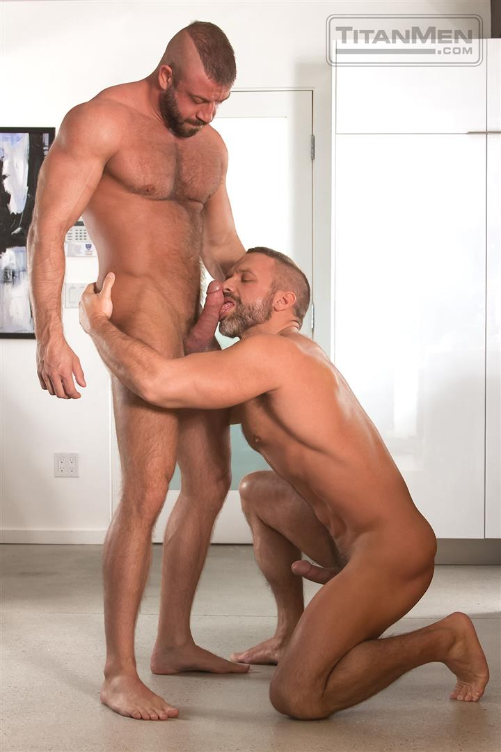 Titanmen-Titan-Hunter-Marx-and-Dirk-Caber-Hairy-Muscle-Daddy-Fuck-Amateur-Gay-Porn-05 Dirk Carber Gets Fucked Hard By Another Muscle Daddy With A Thick Cock