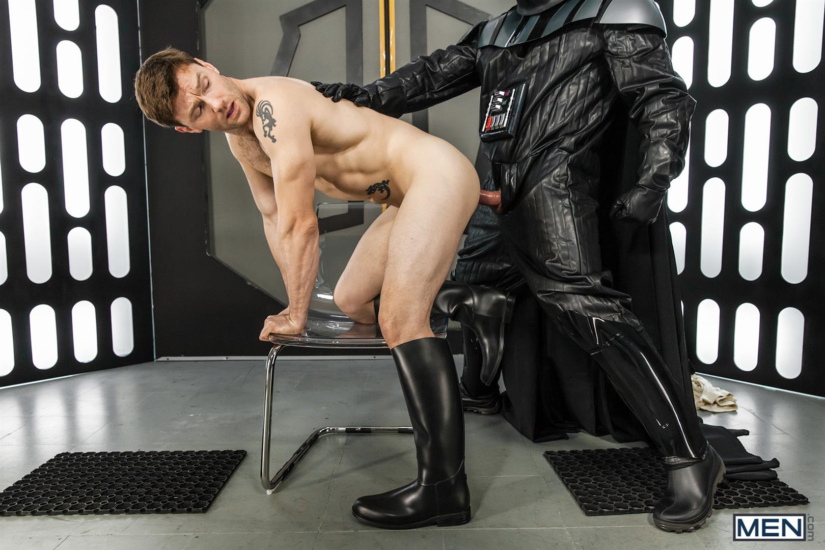 Men-Dennis-West-Gay-Star-Wars-Parody-XXX-Amateur-Gay-Porn-41 Who Knew that Darth Vader Likes To Fuck Man Ass?