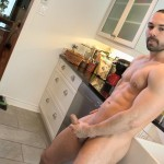 Maskurbate-Muscle-Hunk-With-A-Big-Uncut-Cock-Jerking-Off-Amateur-Gay-Porn-11-150x150 The Naked Chef Jerks His Big Uncut Cock In The Kitchen