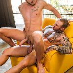 Lucas-Entertainment-Josh-Rider-and-Dylan-Naked-Tatted-Bareback-James-Amateur-Gay-Porn-31-150x150 Dylan James Barebacking Josh Rider In The Gym Shower